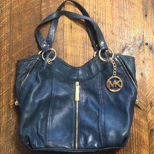 Michael Kors Shoulder bag navy blue